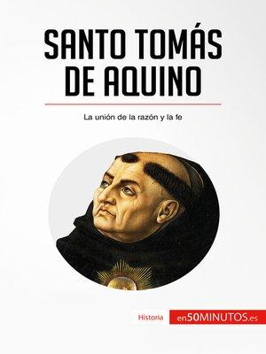 cover image of Santo Tomás de Aquino