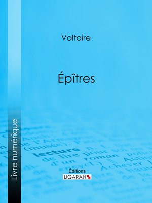 cover image of Épîtres