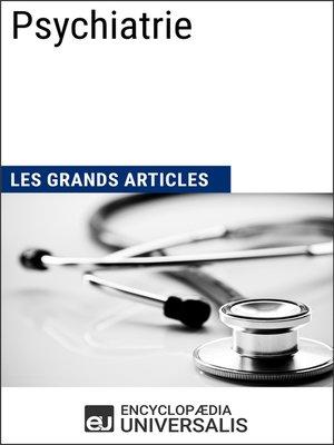 cover image of Psychiatrie