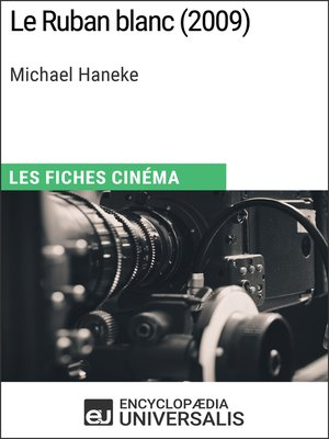 cover image of Le Ruban blanc de Michael Haneke
