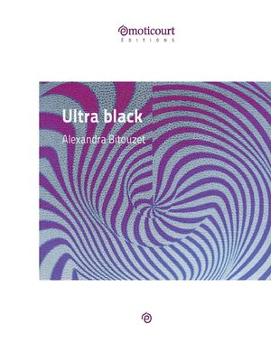 cover image of Ultra black