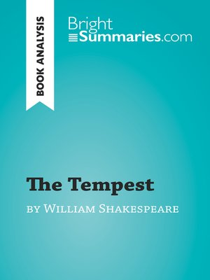 cover image of The Tempest by William Shakespeare (Book Analysis)