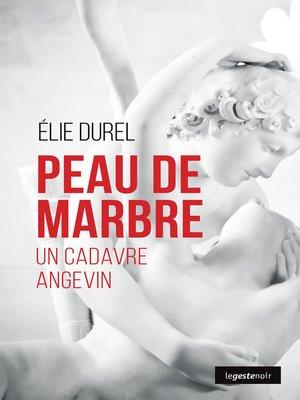 cover image of Peau de marbre