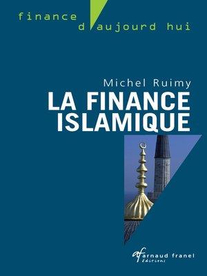 cover image of La finance islamique
