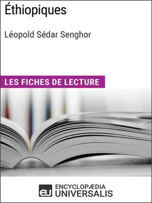 cover image of Éthiopiques de Léopold Sédar Senghor