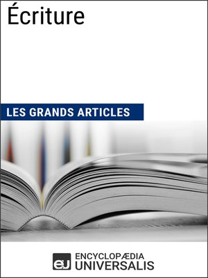 cover image of Écriture