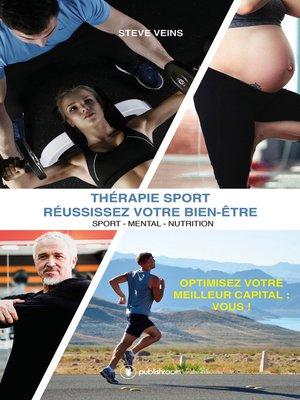 cover image of Thérapie Sport--Réussissez votre bien-être