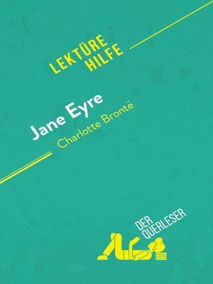 cover image of Jane Eyre von Charlotte Brontë (Lektürehilfe)