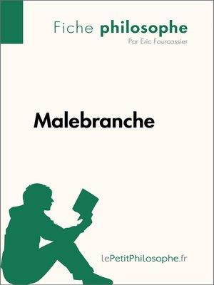 cover image of Malebranche--Fiche philosophe