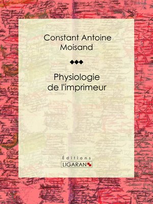 cover image of Physiologie de l'imprimeur