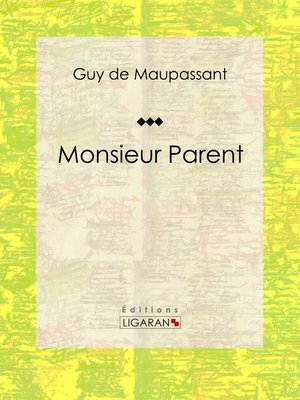 cover image of Monsieur Parent