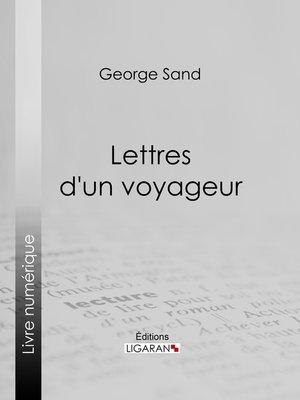 cover image of Lettres d'un voyageur