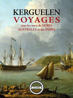 cover image of Voyages dans les mers du Nord, Australes et des Indes