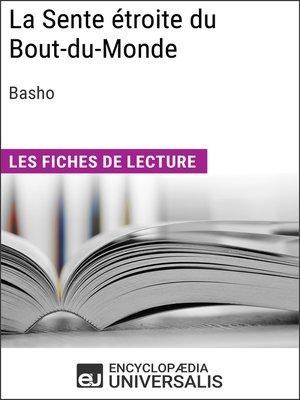 cover image of La Sente étroite du Bout-du-Monde de Basho