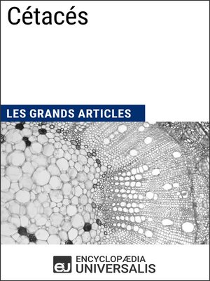 cover image of Cétacés