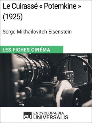 cover image of Le Cuirassé « Potemkine » de Serge Mikhaïlovitch Eisenstein
