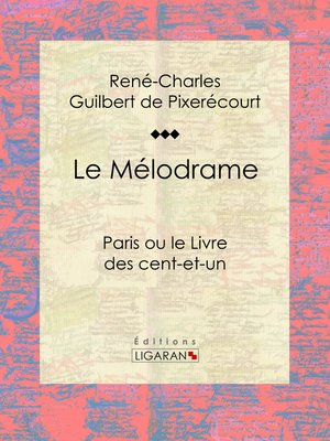 cover image of Le Mélodrame