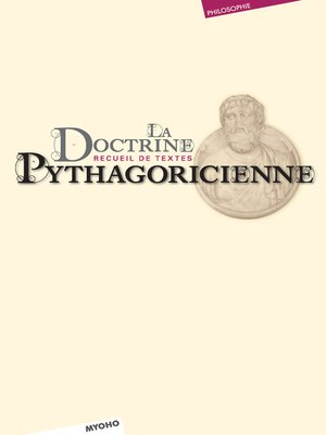 cover image of La doctrine pythagoricienne