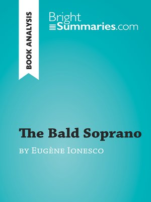 cover image of The Bald Soprano by Eugène Ionesco (Book Analysis)
