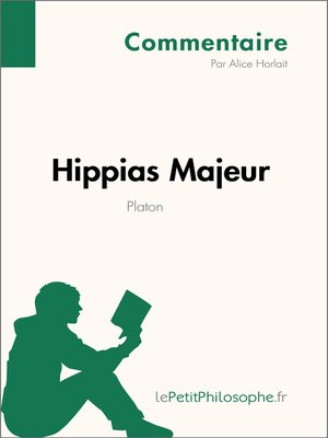 cover image of Hippias Majeur de Platon (Commentaire)
