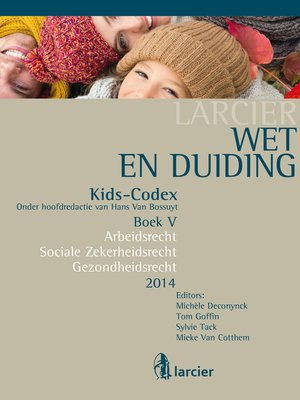 cover image of Wet & Duiding Kids-Codex Boek V
