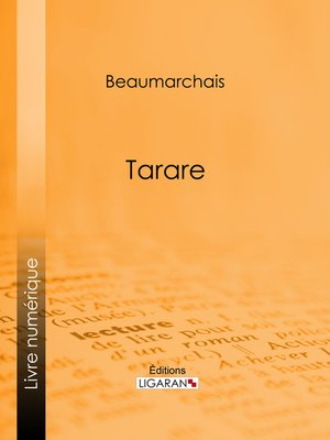 cover image of Tarare