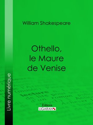 cover image of Othello, le Maure de Venise