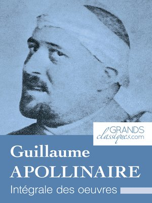 cover image of Guillaume Apollinaire