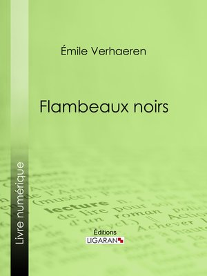 cover image of Flambeaux noirs