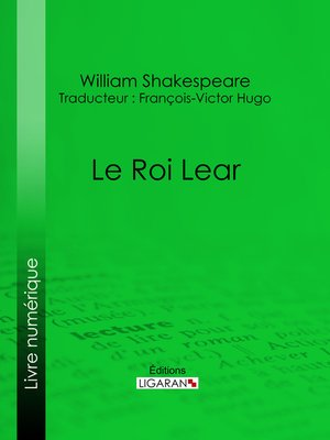 cover image of Le Roi Lear