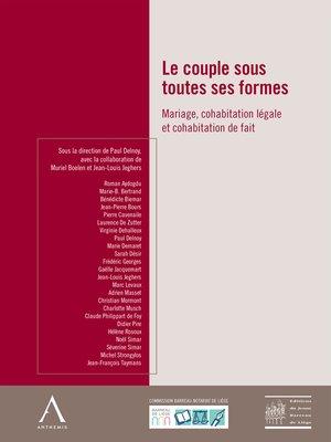 cover image of Le couple sous toutes ses formes