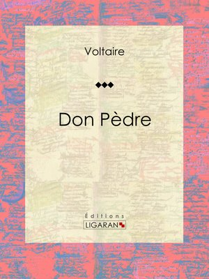 cover image of Don Pèdre