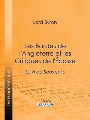 cover image of Les Bardes de l'Angleterre et les Critiques de l'Écosse