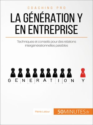 cover image of La génération Y en entreprise