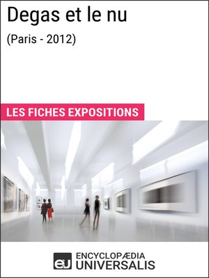 cover image of Degas et le nu (Paris--2012)