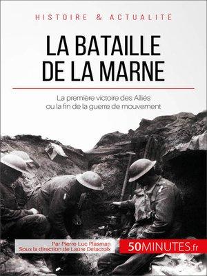 cover image of La bataille de la Marne