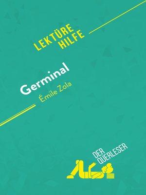 cover image of Germinal von Émile Zola (Lektürehilfe)