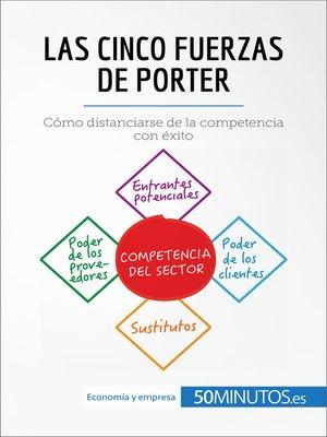 cover image of Las cinco fuerzas de Porter