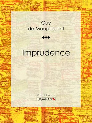 cover image of Imprudence