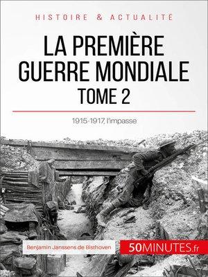 cover image of La Première Guerre mondiale (Tome 2)