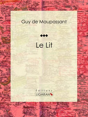 cover image of Le Lit