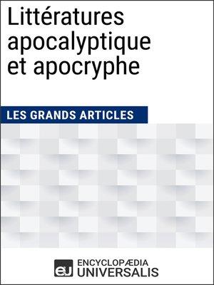 cover image of Littératures apocalyptique et apocryphe
