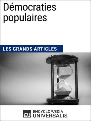 cover image of Démocraties populaires
