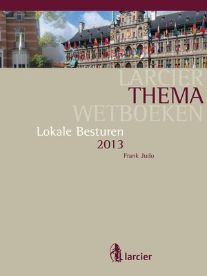 cover image of Lokale besturen