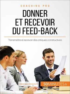 cover image of Donner et recevoir du feed-back