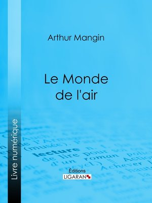 cover image of Le Monde de l'air