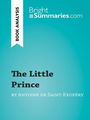cover image of The Little Prince by Antoine de Saint-Exupéry: Summary, Analysis and Reading Guide