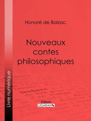 cover image of Nouveaux contes philosophiques