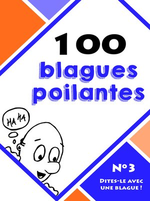 cover image of 100 blagues poilantes