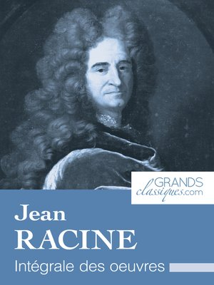 cover image of Jean Racine